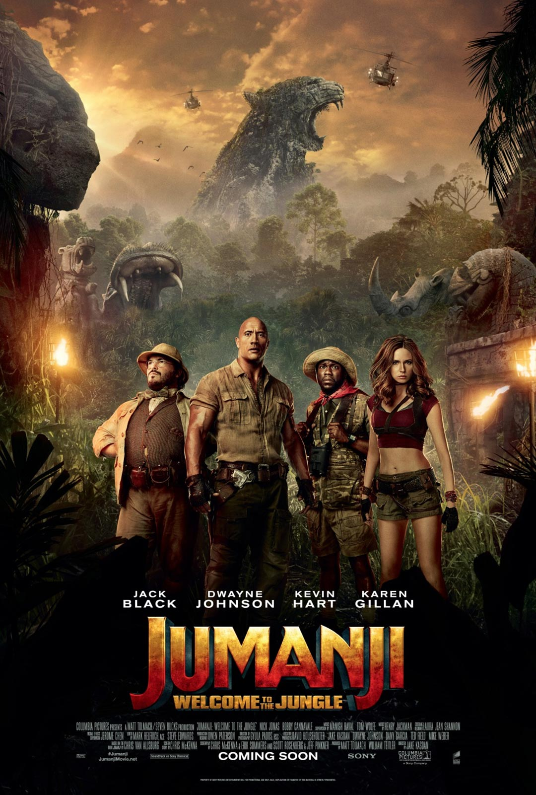 Jumanji: Welcome to the Jungle Poster #3