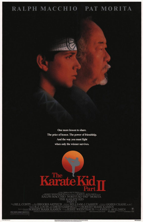 The Karate Kid, Part II Poster #1