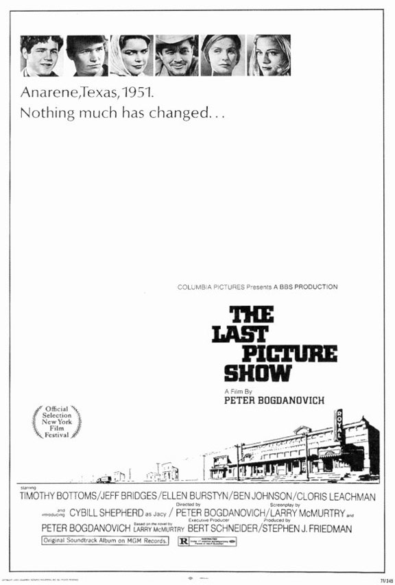 The Last Picture Show Poster #1