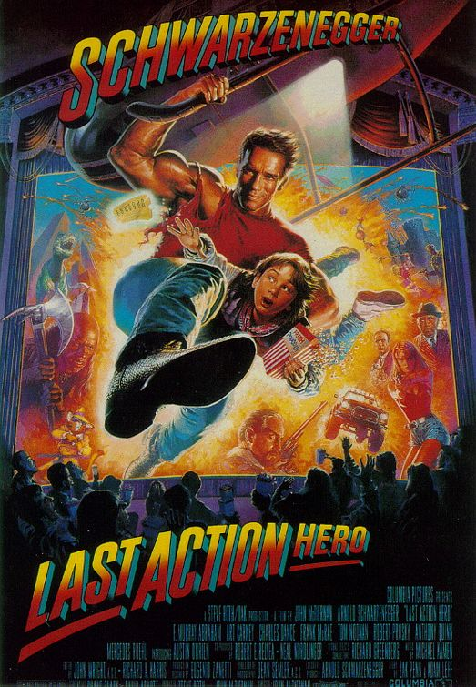 Last Action Hero Poster #1