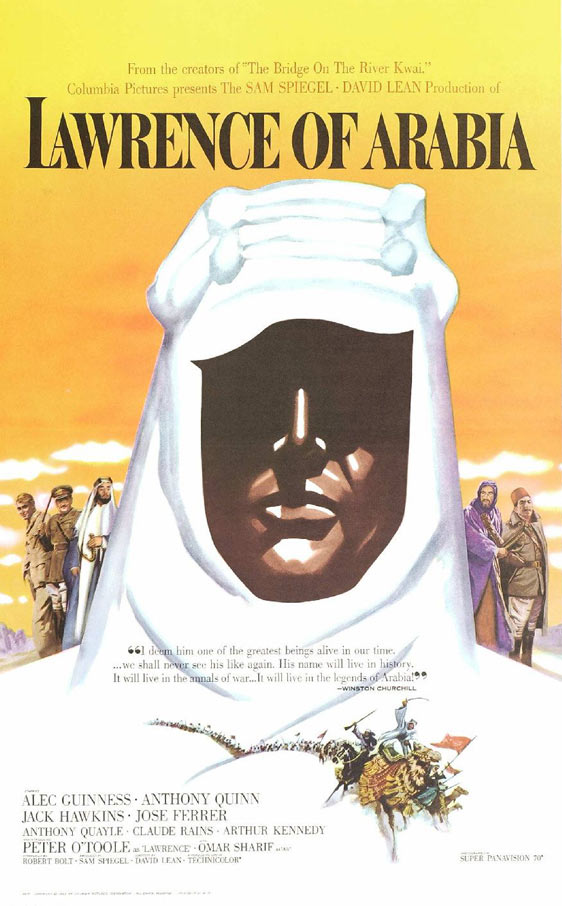 Lawrence of Arabia Poster #1