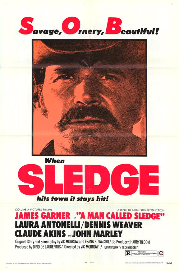 A Man Called Sledge Poster #1