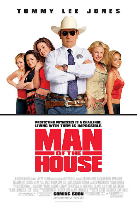 Man of the House Poster #1