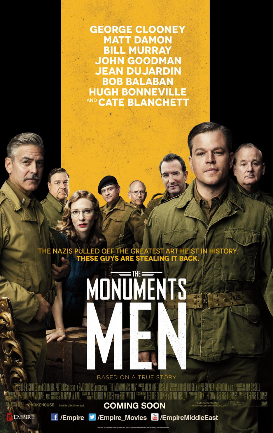 The Monuments Men Poster #2