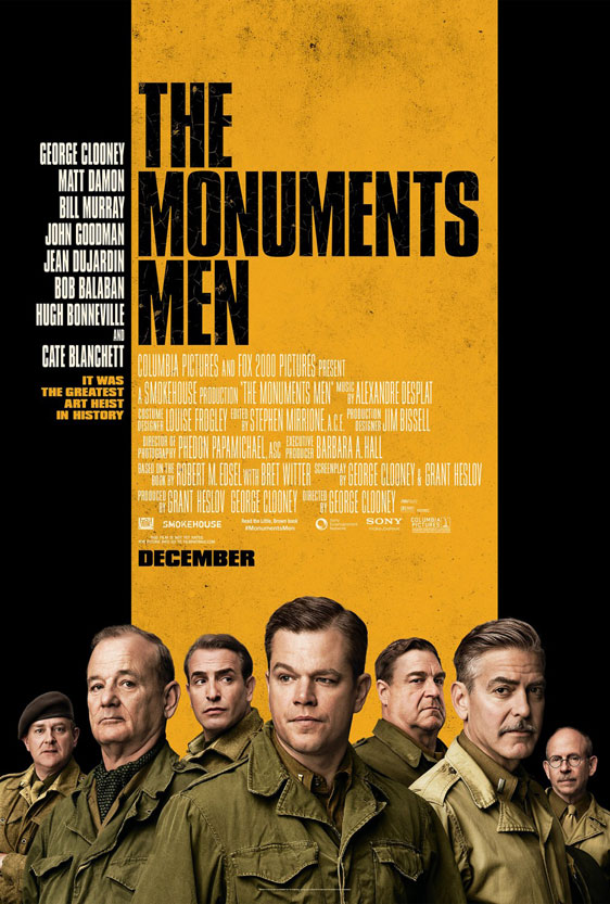 The Monuments Men Poster #1