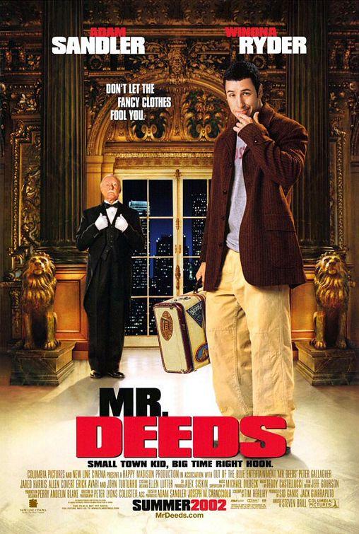 Mr. Deeds Poster #1