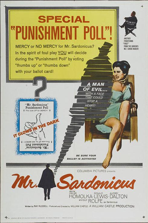 Mr. Sardonicus Poster #1