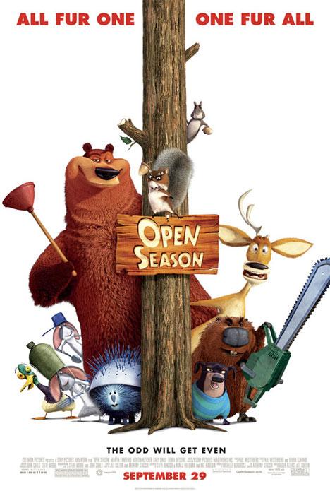 Open Season Poster #1