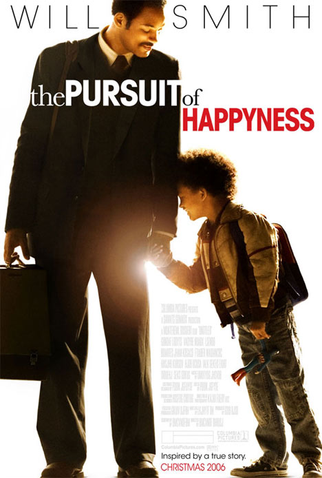 The Pursuit of Happyness Poster #1