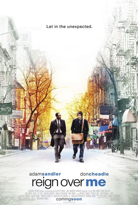 Reign Over Me Poster #1