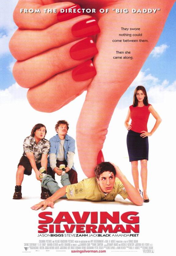 Saving Silverman Poster #1