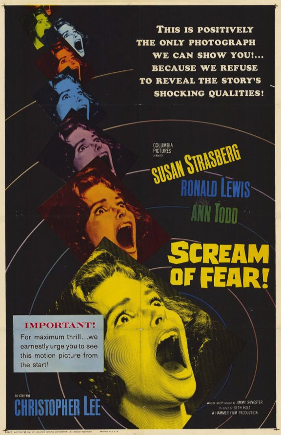 Scream of Fear Poster #1