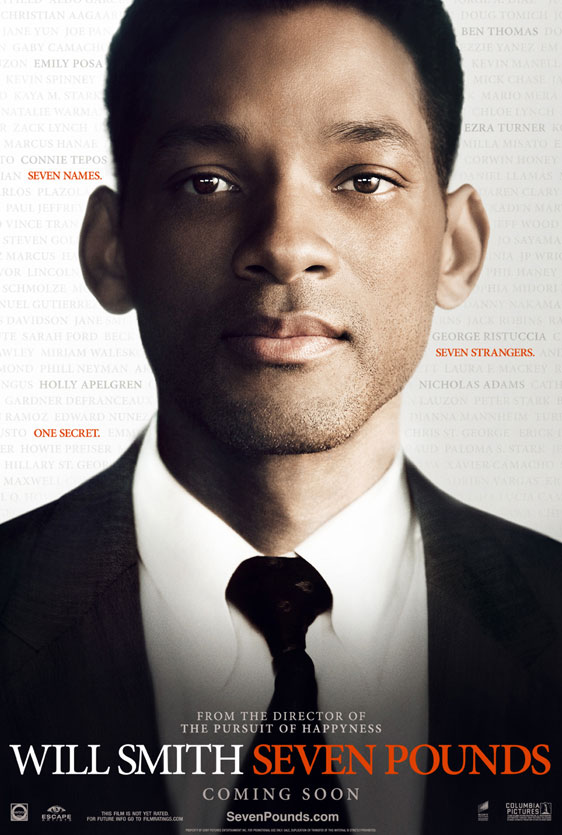 Seven Pounds Poster #1