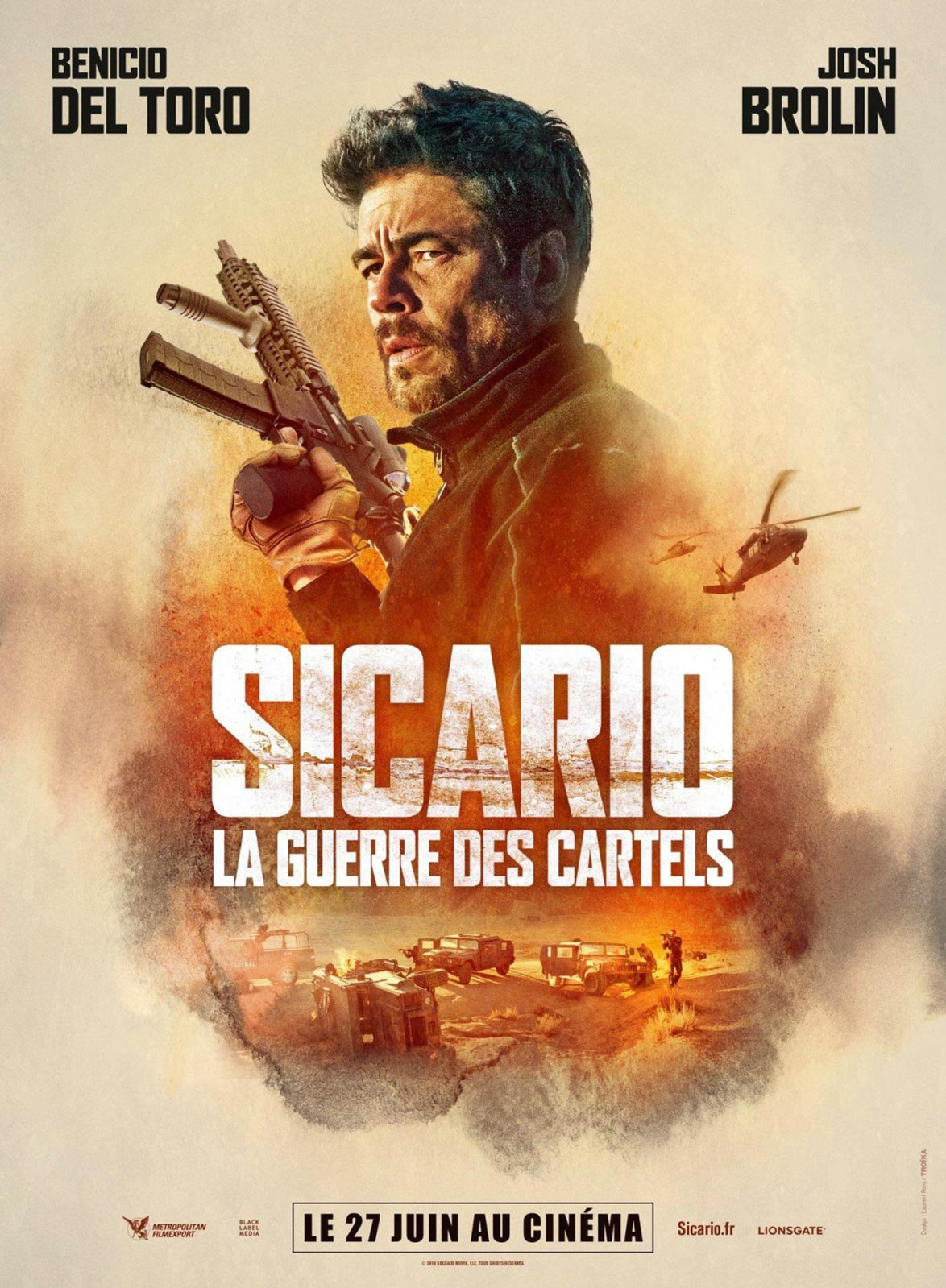 Sicario: Day of the Soldado Poster #2