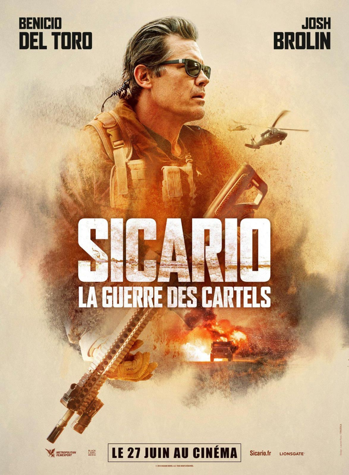 Sicario: Day of the Soldado Poster #3
