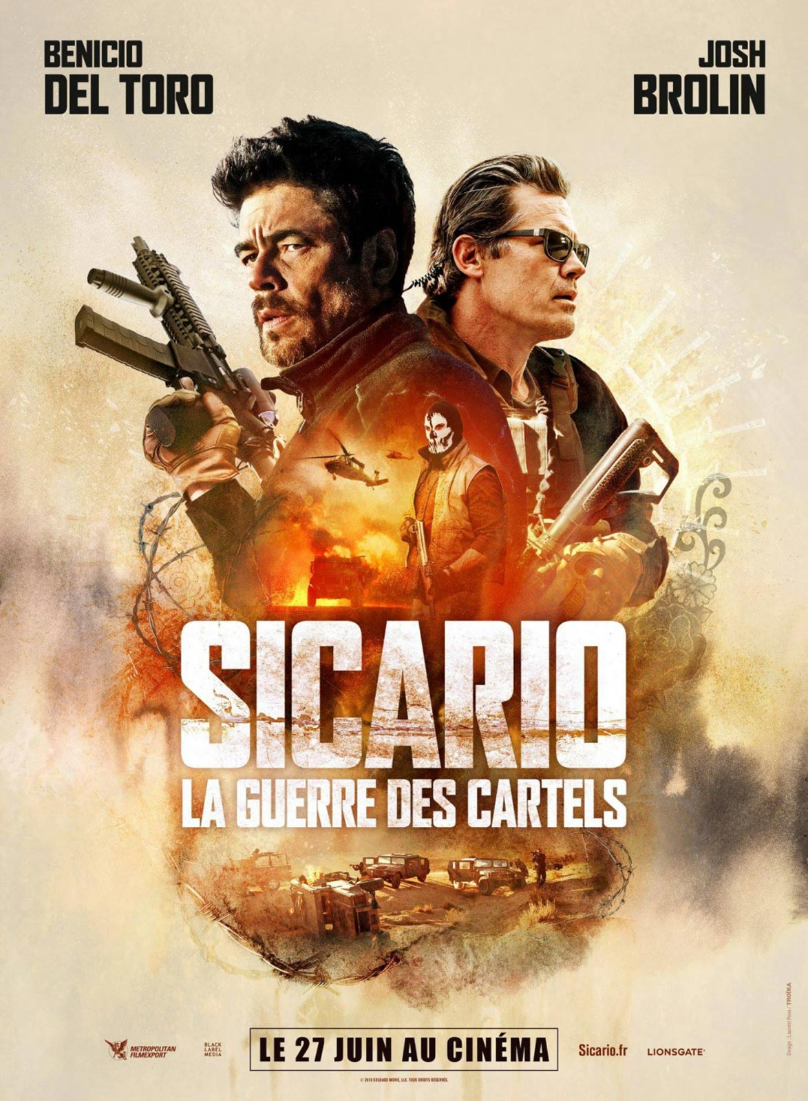 Sicario: Day of the Soldado Poster #4