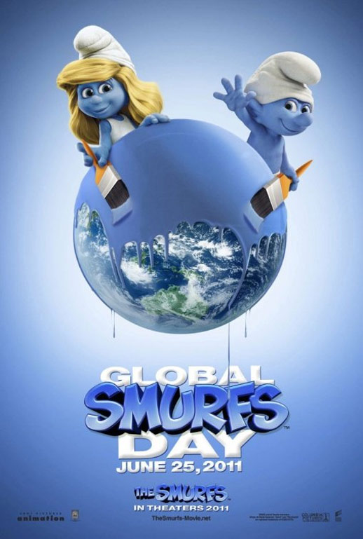 The Smurfs Poster #10