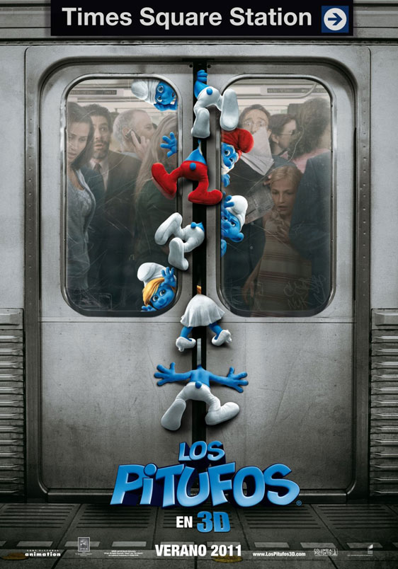 The Smurfs Poster #2
