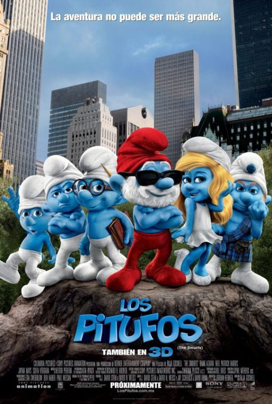The Smurfs Poster #3