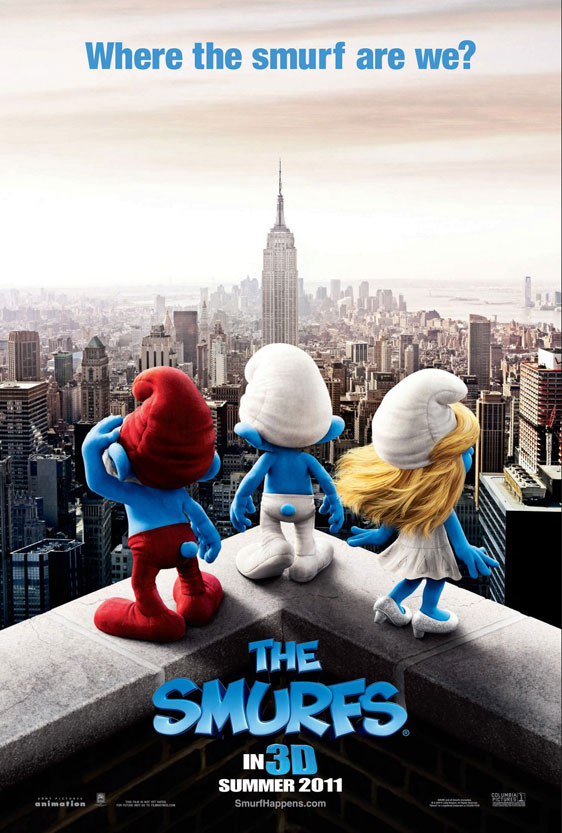 The Smurfs Poster #1