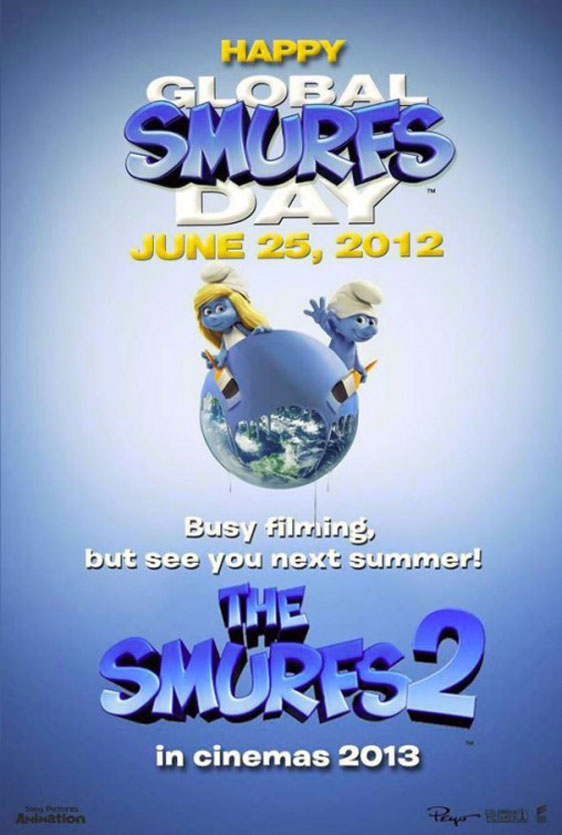 The Smurfs 2 Poster #2