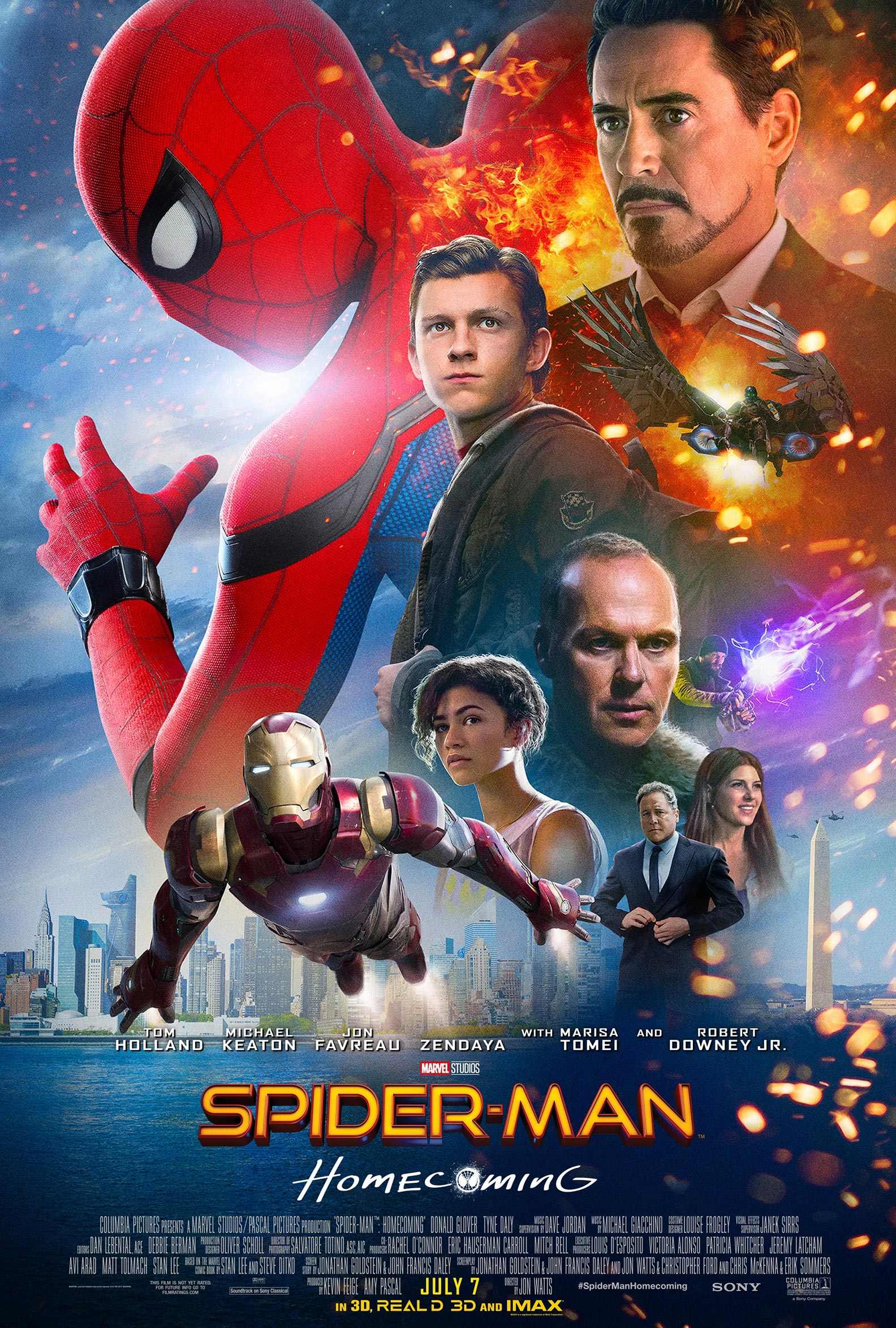 Spider-Man: Homecoming Poster #6