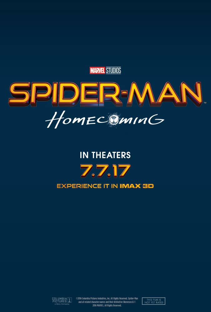 Spider-Man: Homecoming Poster #1