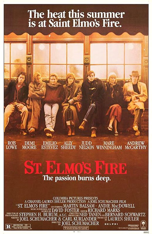 St. Elmo's Fire Poster #1