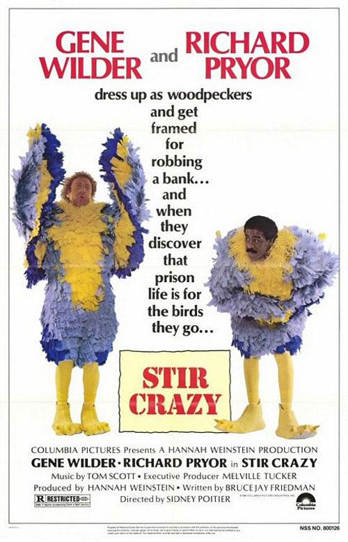 Stir Crazy Poster #1