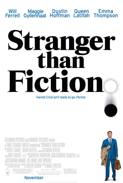 Stranger Than Fiction Poster #1