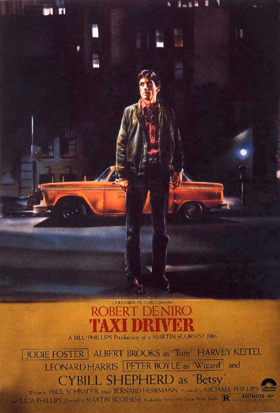 Taxi Driver Poster #1