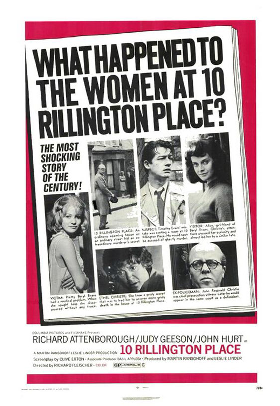 10 Rillington Place Poster #1