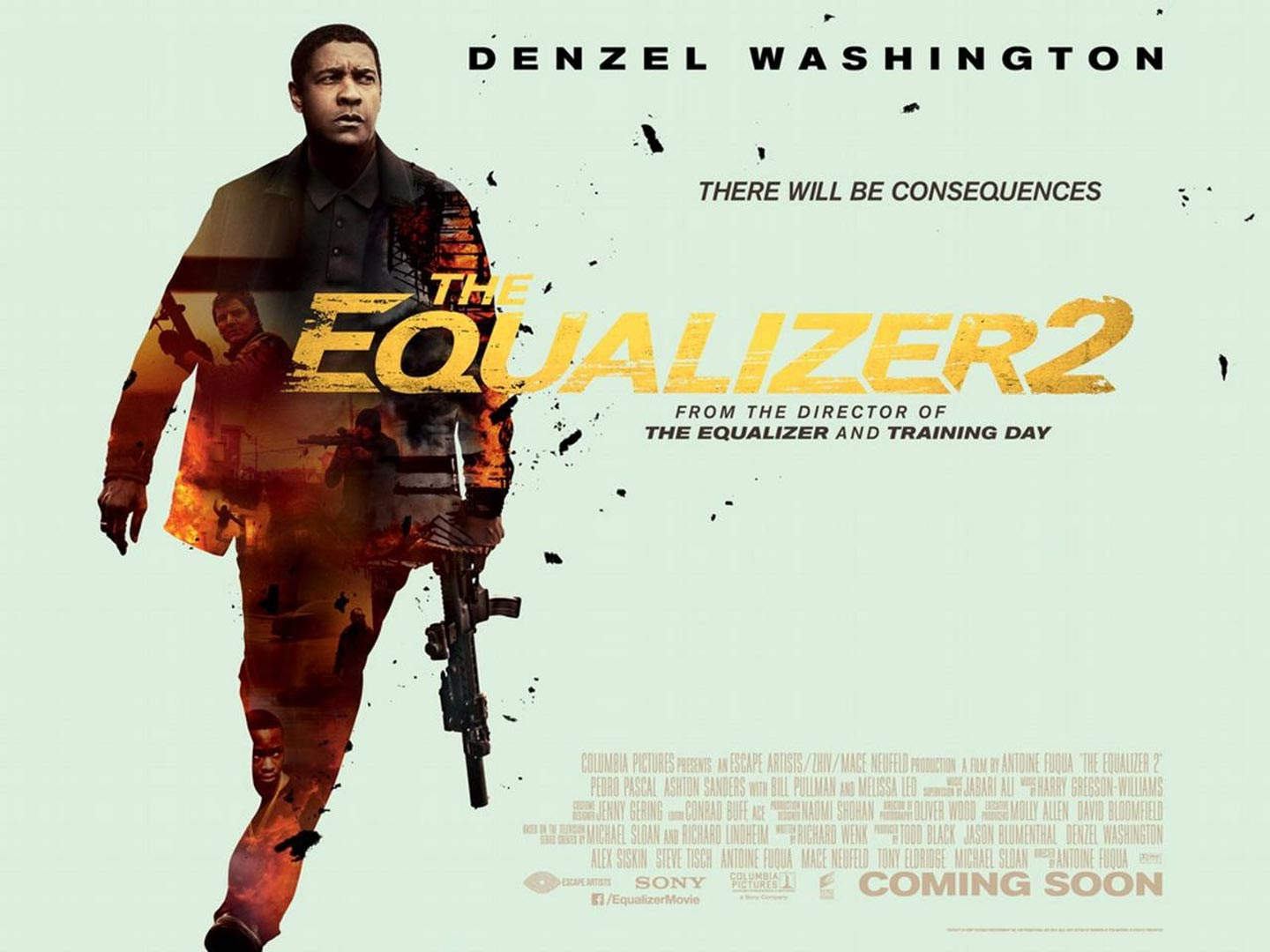 The Equalizer 2 Poster #2