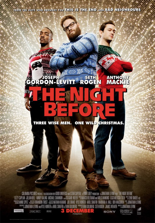 The Night Before Poster #2