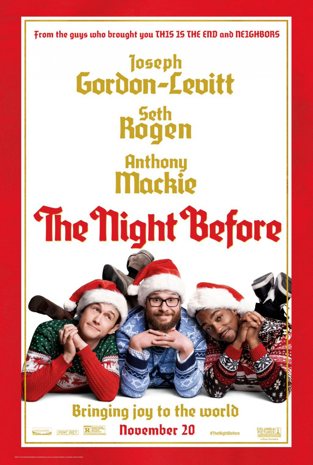 The Night Before Poster #3