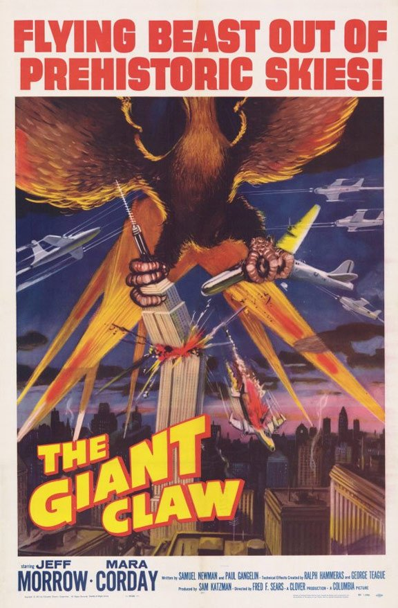 The Giant Claw Poster #1