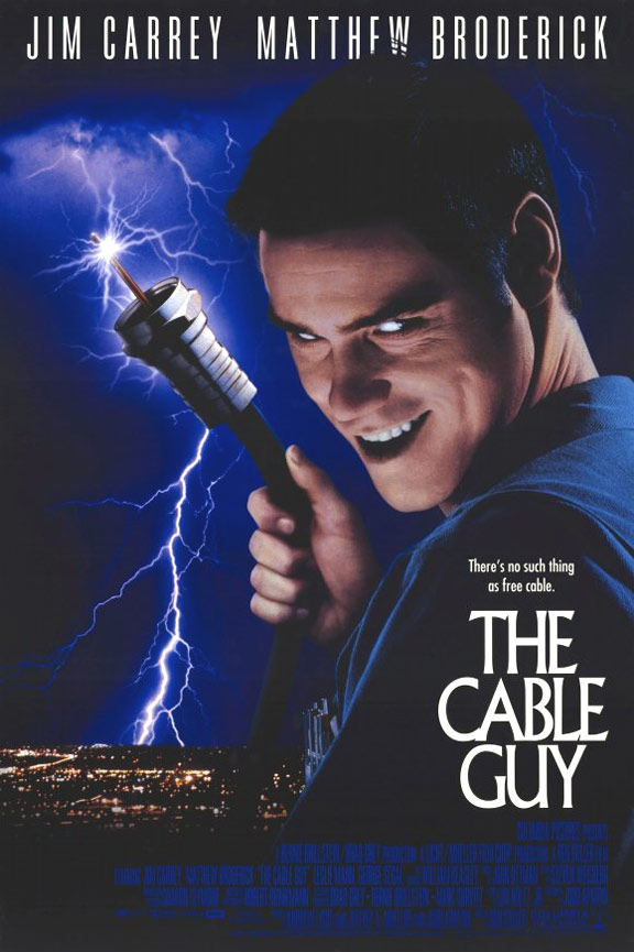 The Cable Guy Poster #1