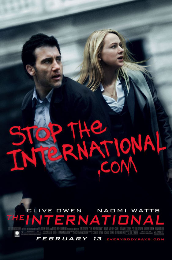 The International Poster #4