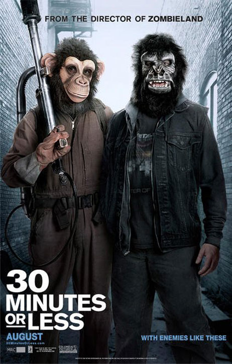 30 Minutes or Less Poster #2