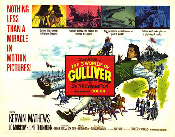 The 3 Worlds of Gulliver Poster #2
