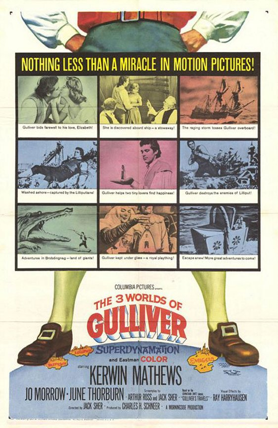 The 3 Worlds of Gulliver Poster #1