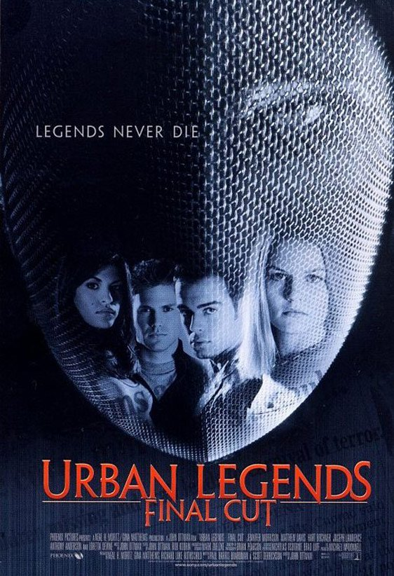 Urban Legends: Final Cut Poster #1