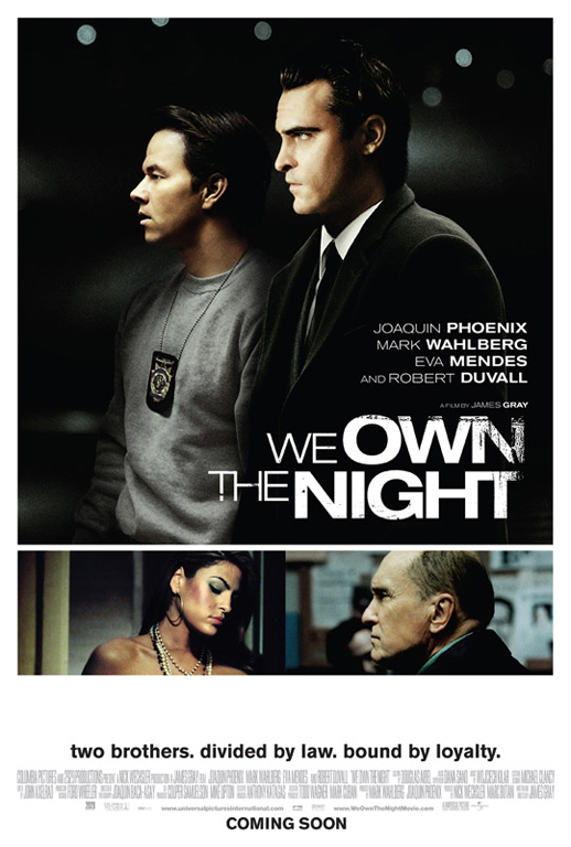 We Own the Night Poster #2