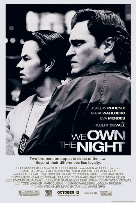 We Own the Night Poster #1