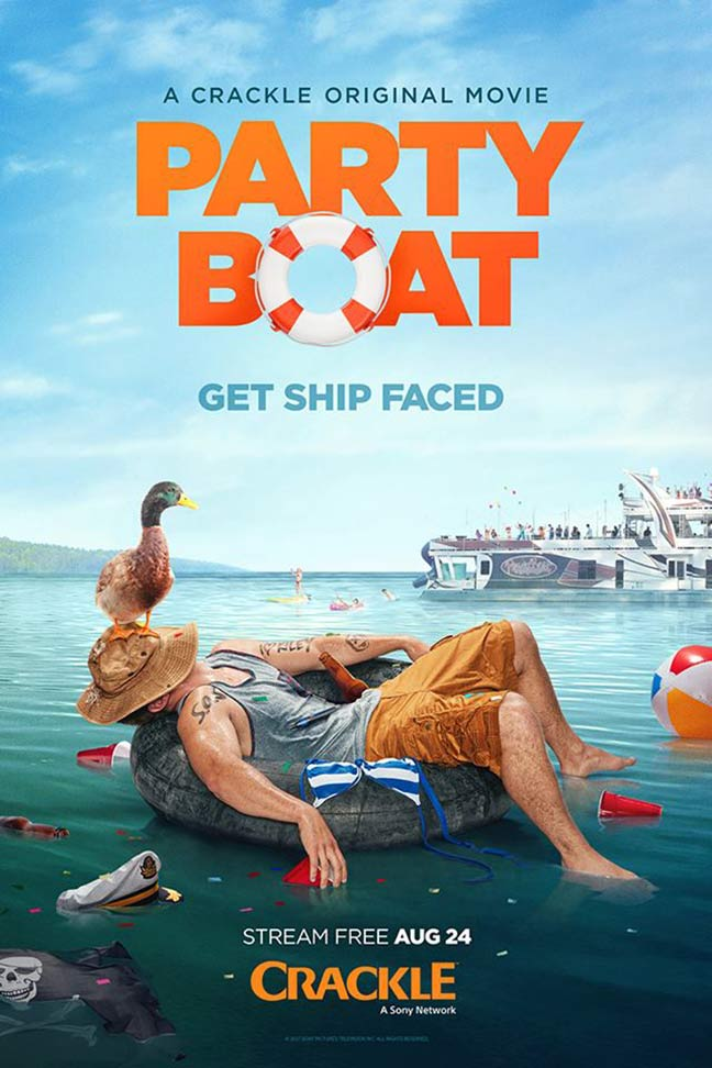 Party Boat Poster #1