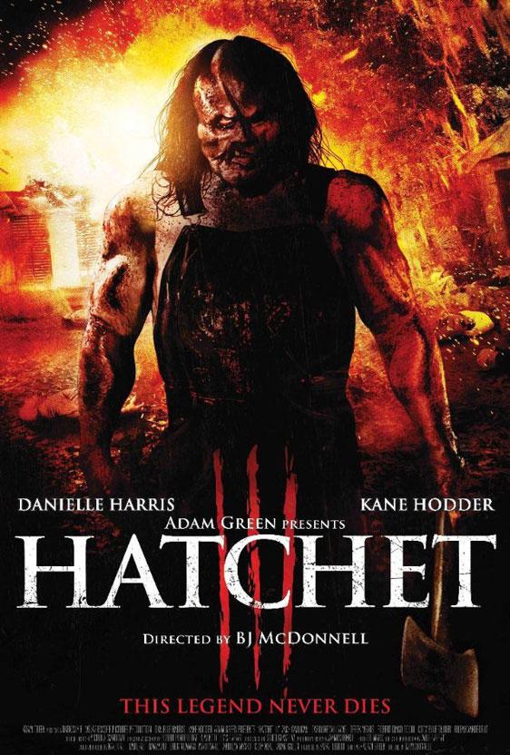 Hatchet III Poster #1