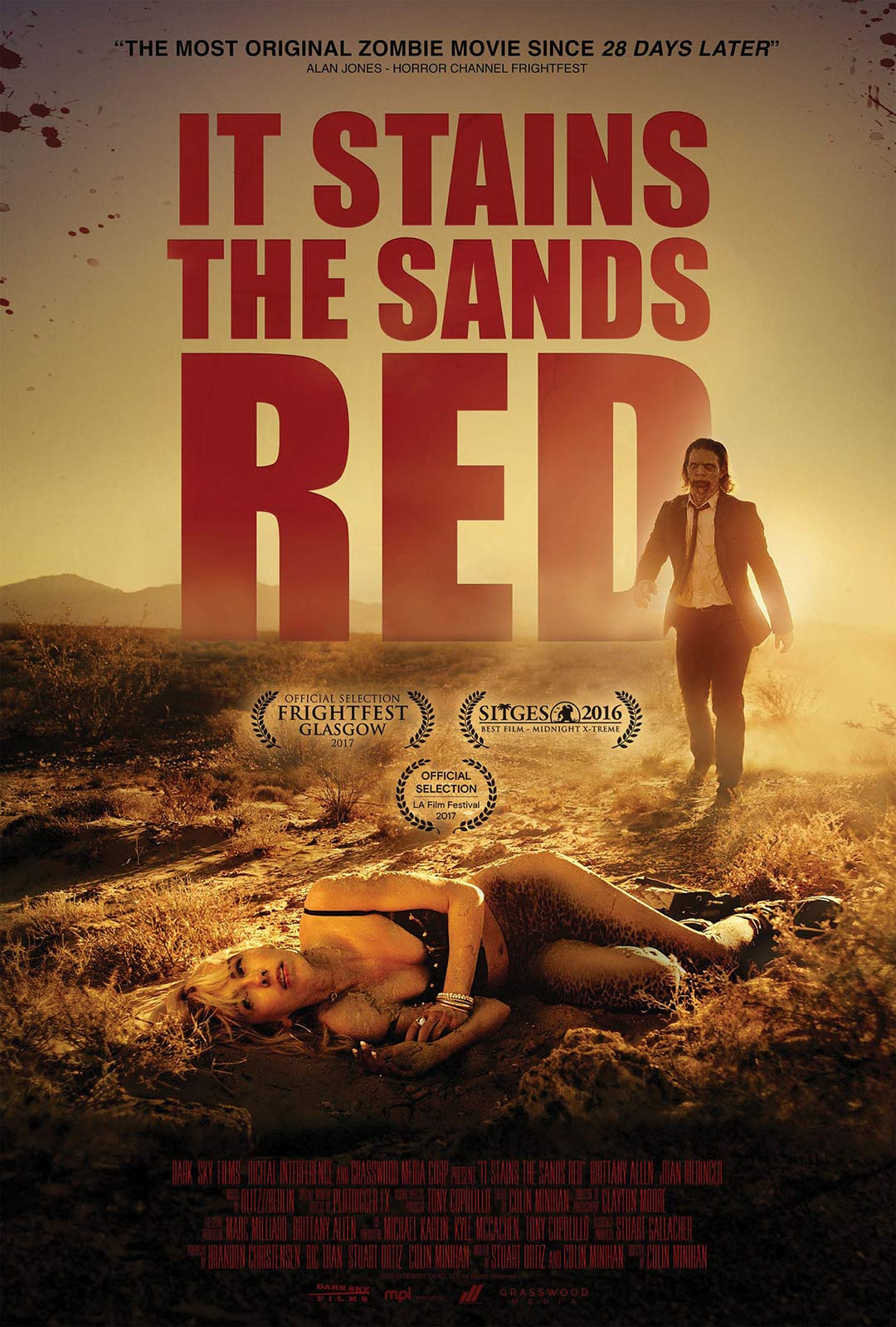 It Stains the Sands Red Poster #1