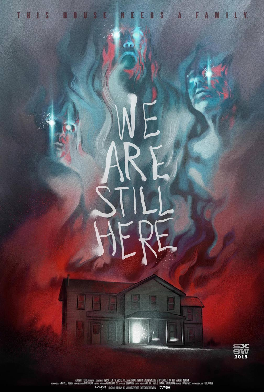 We Are Still Here Poster #1