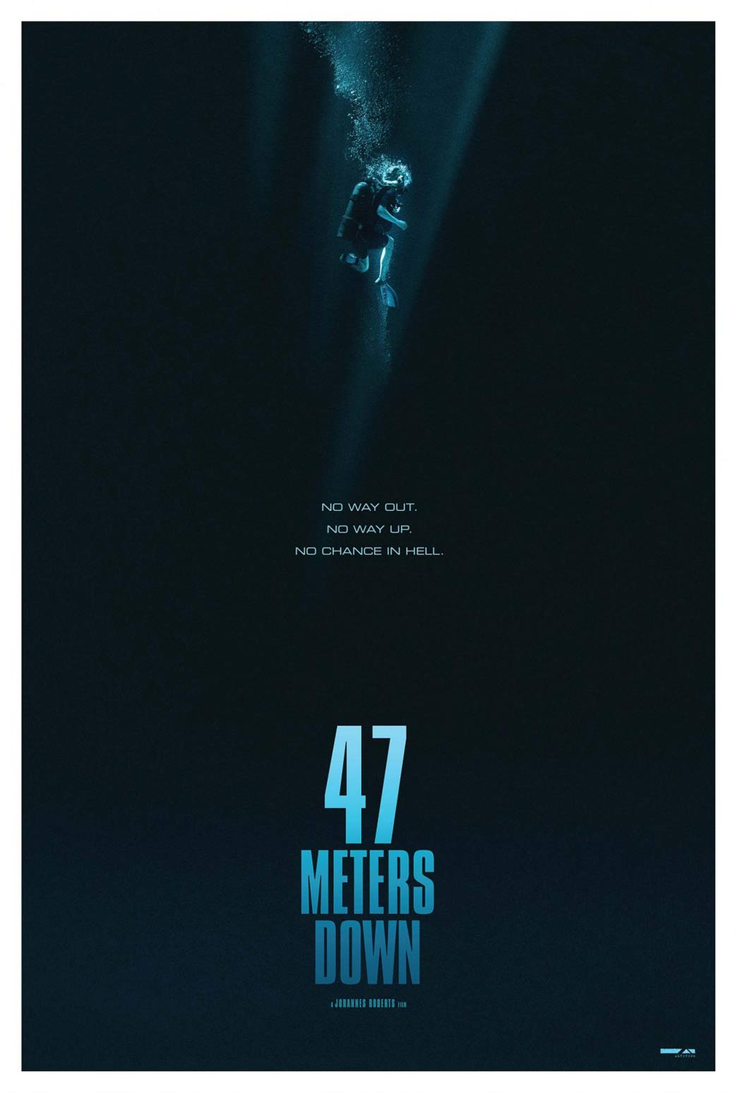 47 Meters Down Poster #2