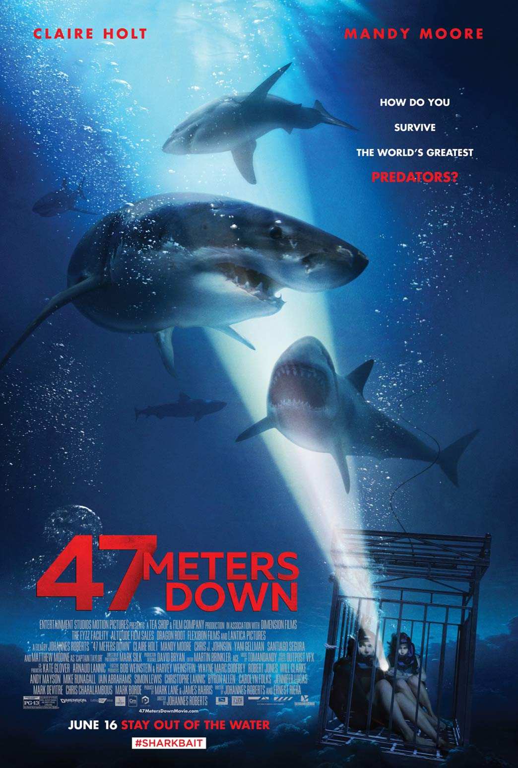 47 Meters Down Poster #4